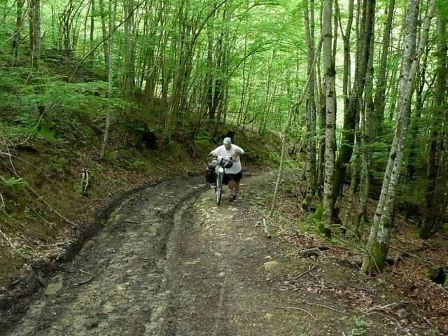 Schlammschlacht zum Col de Portet d'Aspet