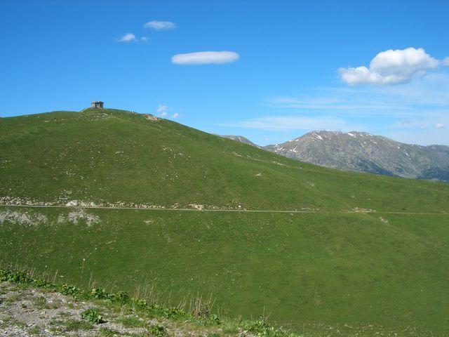 Gipfel Authion.