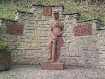 unbekanntes Arbeiterdenkmal in Rubenheim