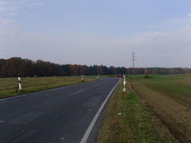 die Höhe - Endpunkt Ostauffahrt.