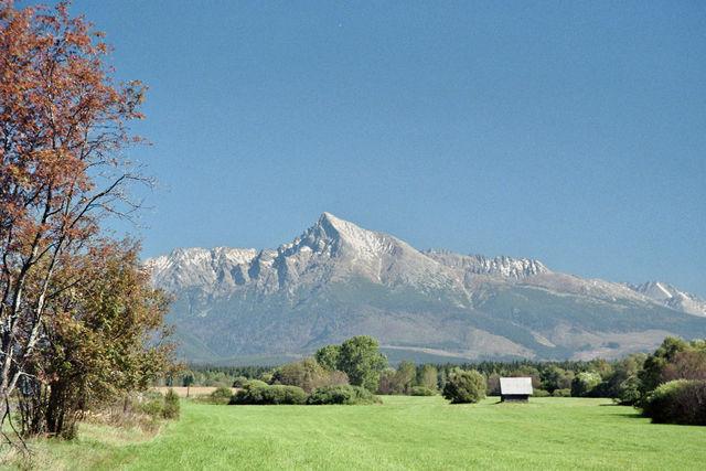 Blick auf die Hohe Tatra