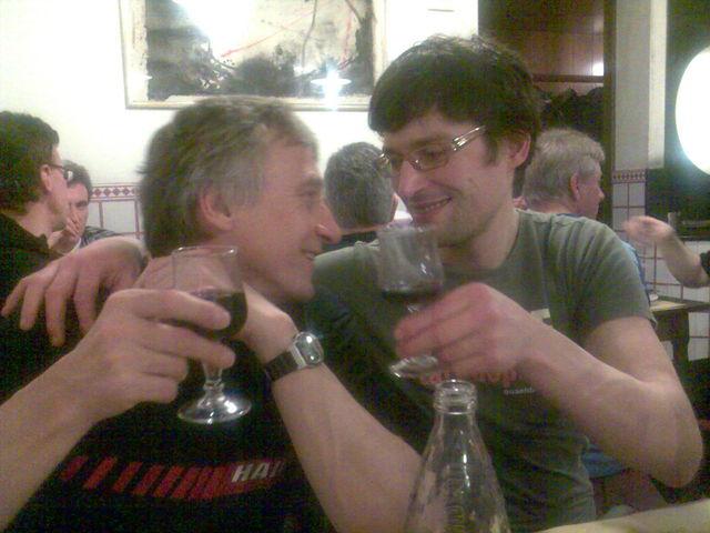 Am Abend wieder versöhnt: Hasenflüsterer und Giovanni