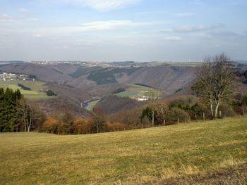 großartiger Blick ins Tal der Sauer