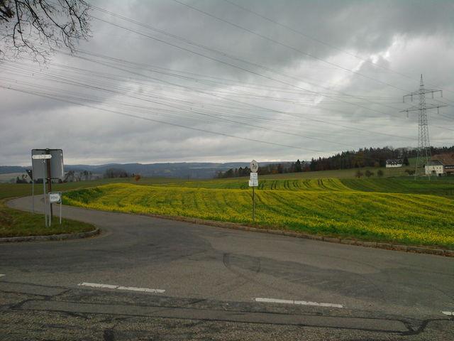 Endlich oben mit Blick auf Berghaus.
