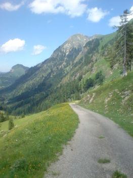Schlußanstieg mit Rotspitze