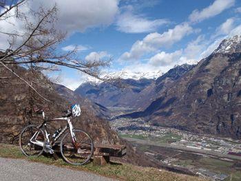 Monti di Lodrino(962m), prächtige Aussicht, 19.3.11.
