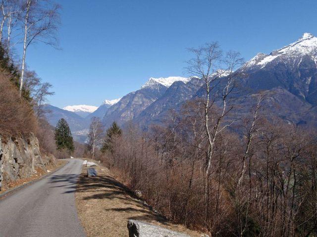 auf dem Weg nach Monti di Gnosca, 23.3.11.