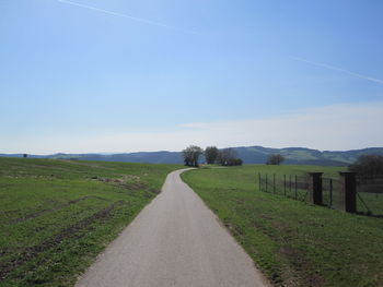 Blick in Richtung Eifel.