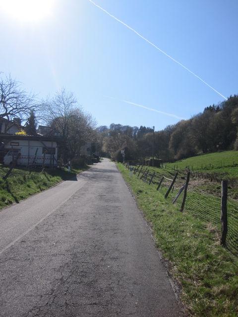 Steile Variante nach Weißfeld
