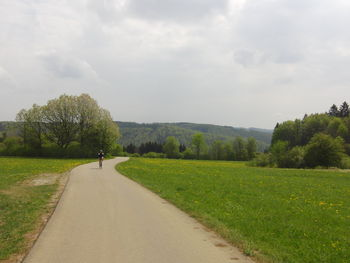 Blick zurück über das Bäratal
