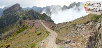 Rennradroute zum Pico do Arieiro von Osten 15.