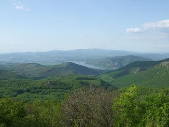 Blick nach Norden, Richtung Donauknie und Börzsöny