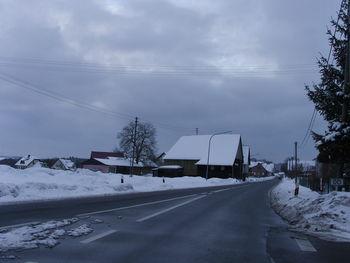 Boxbrunn im Winter.