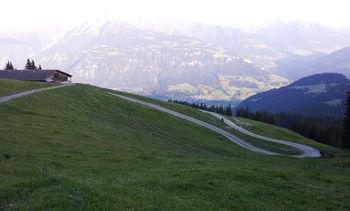 Alp Dadens von oben