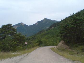 Blick vom Col de Miscon