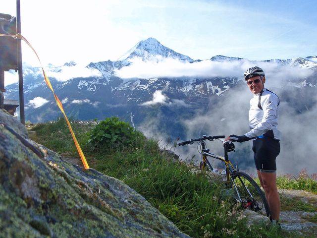 das Bietschhorn (3934m) hat mich nicht im Stich gelassen, 8.06h.