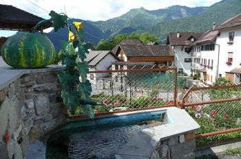 Liáriis: letzter Brunnen vor dem Monte Zoncolan