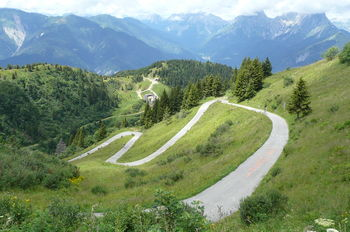 Monte Zoncolan:der letzte Kilometer
