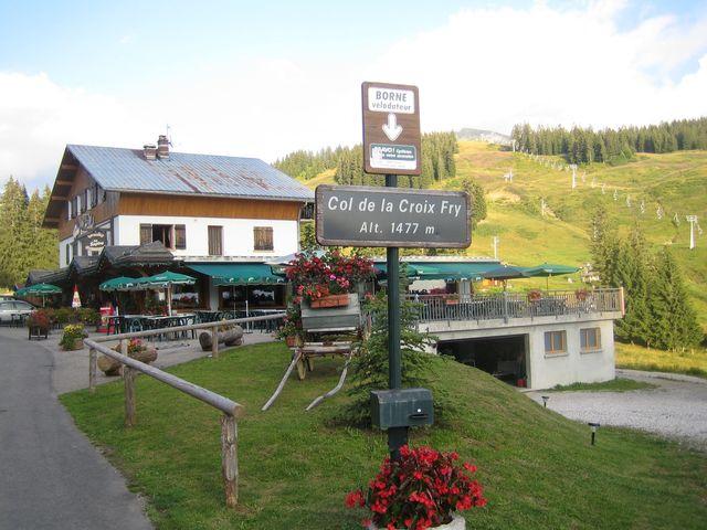 Croix Fry Passhöhe