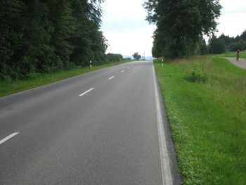 Blick in Richtung Gächingen - Die Persepktive täuscht - Es geht hier schon abwärts.