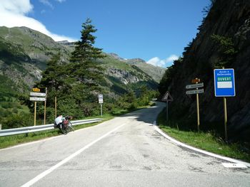 Junction of Plan du Lac climb