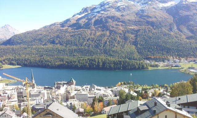 St.Moritz: zugegeben traumhafte Lage