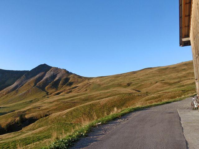 Breitenfeld, ganz oben1797m, 29.9.11.