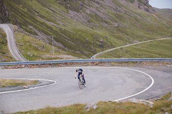 Alpine Streckenführung