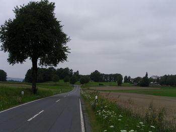 Endpunkt von Osten, aus dem Brombachtal aus gesehen.