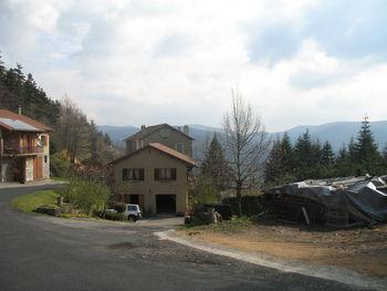 Aussicht vom Col de Rochepaule