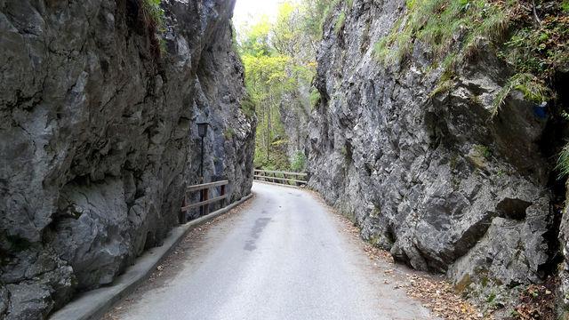 Anfahrt von Gutenstein: Das