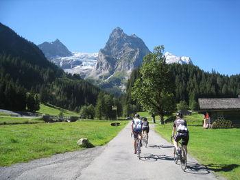 Auffahrt zur Großen Scheidegg