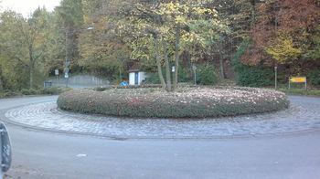 Kreisverkehr Berlebeck