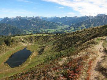 Blick vom Wertacher Hörnle Richtung Oberjoch
