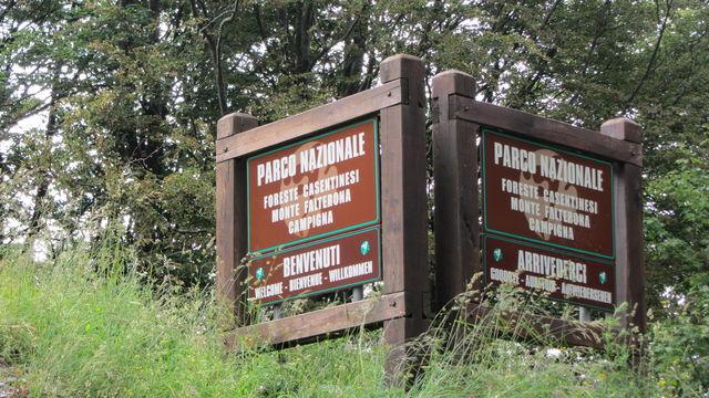 Das Logo des Nationalparks...sehr schlicht.