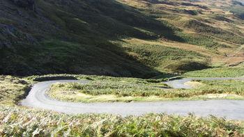 Westanfahrt: England's steepest bend?