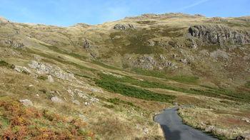 Ostanfahrt: Blick zum Lingmoor Fell.