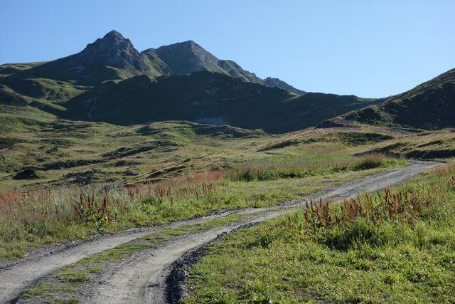Karrenweg zum Col du Six Blanc