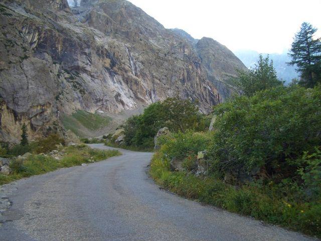 an der Pelvoux Ostwand entlang