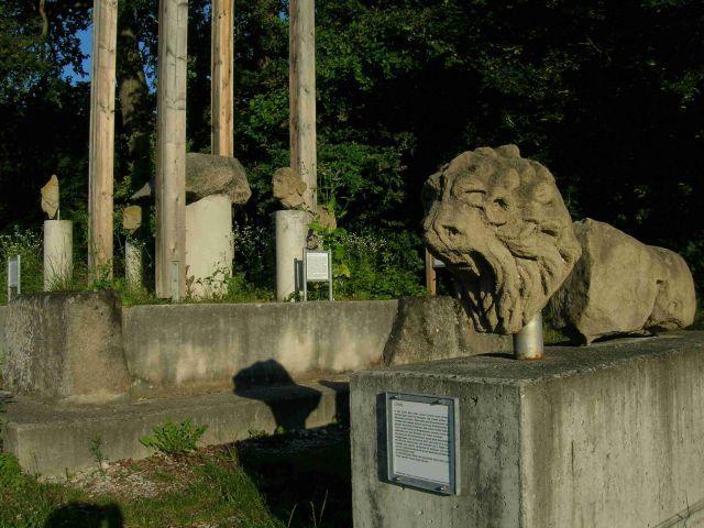 Römische Überreste am Neckar bei Kirchentellinsfurt