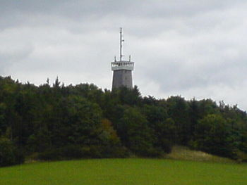 Der Aussichtsturm der Rother Kuppe