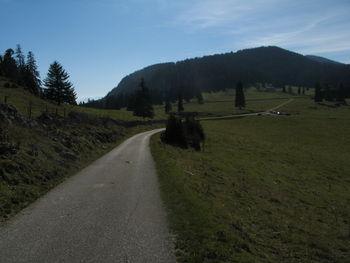 ... auf einen Hochpunkt auf über 1'300 Metern.