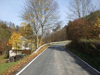Nordwestanfahrt: Steil aus dem Wispertal heraus.