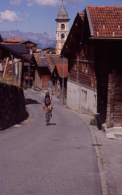 Vrin, ein Ort im hinteren Val Lumnezia...