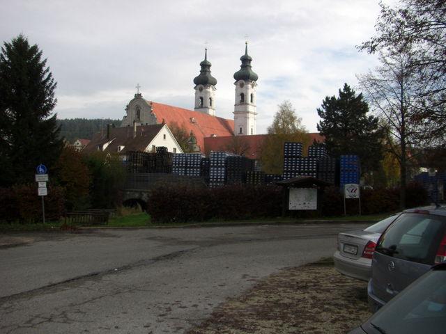 Start am Zwiefalter Kloster.