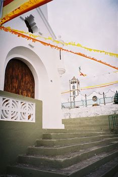 Die Kirche in Santa Barbara.