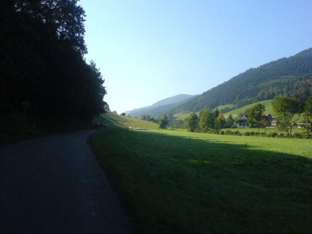 auf dem Weg zum Rohrhardsberg