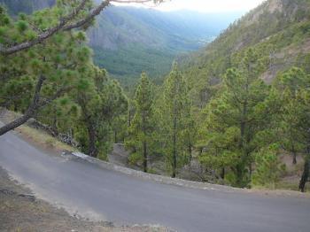 Blick zurück Richtung Aridanetal.