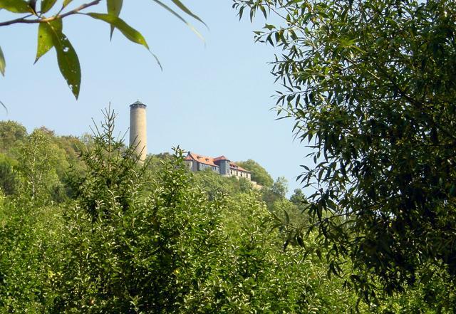 Fuchsturm vom Ziegenhainer Tal.