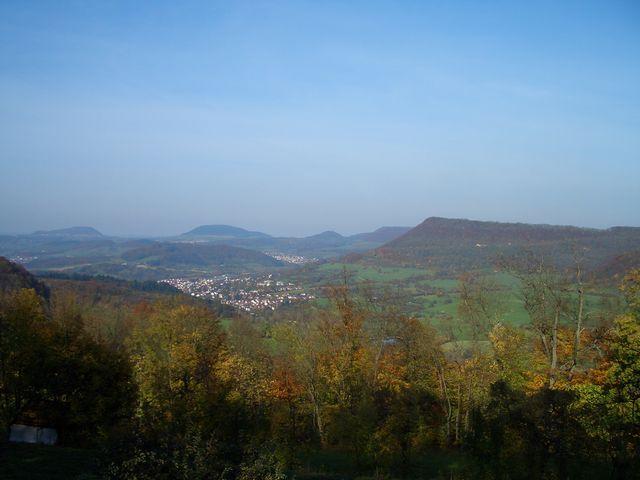 Messelbergsteige von der Kuchalb gesehen .